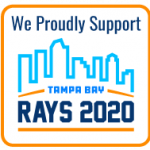 We Proudly Support Tampa Bay Rays